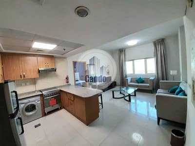فلیٹ 1 غرفة نوم للايجار في داون تاون جبل علي، دبي - Fully Furnished   One Bedroom with parking