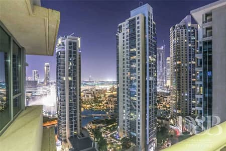 2 Bedroom Apartment for Rent in Downtown Dubai, Dubai - Fully Furnished  Burj Khalifa View  Luxurious
