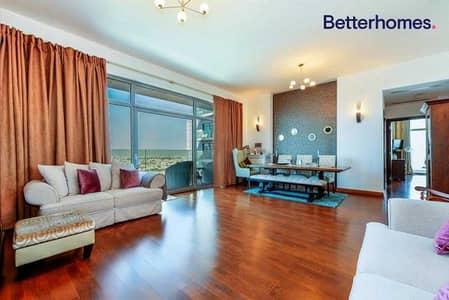 شقة 2 غرفة نوم للايجار في برشا هايتس (تيكوم)، دبي - Higher Floor   Two Towers   Barsha Heights