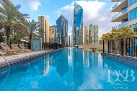 فلیٹ 1 غرفة نوم للايجار في دبي مارينا، دبي - Marina view| High Floor | Chiller Free