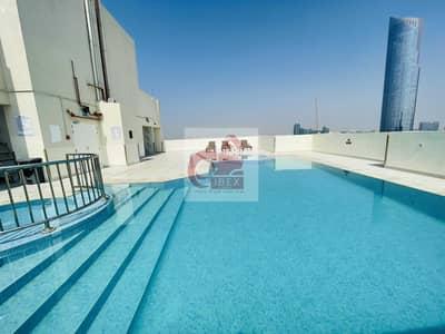 فلیٹ 1 غرفة نوم للايجار في الجداف، دبي - Chiller free month free  front of metro sami furnished 1bhk now in 48k
