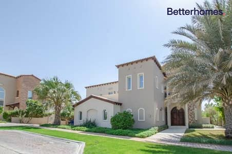 5 Bedroom Villa for Rent in Jumeirah Golf Estates, Dubai - Full Golf Course View | Vacant | Private Pool