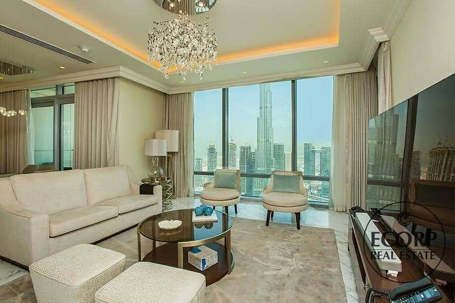 2 Panoramic Views   Fully Furnished   Maid's   Duplex
