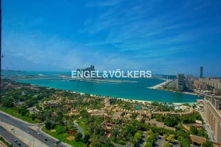 شقة 1 غرفة نوم للايجار في نخلة جميرا، دبي - Full Sea View | Brand New | Fully Furnished