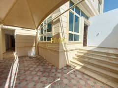 Brand new villa in Al Muroor - shaded indoor barking