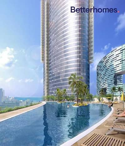 2 Bedroom Apartment for Rent in Al Reem Island, Abu Dhabi - Sea View 2 +1  2 Allocated parking  Vacant