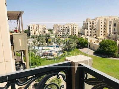 فلیٹ 1 غرفة نوم للايجار في رمرام، دبي - Inner Circle | Community View | Near swimming pool
