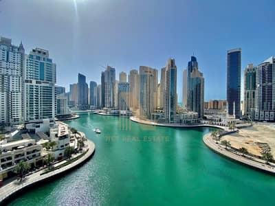 3 Bedroom Flat for Sale in Dubai Marina, Dubai - Full Marina View I 3BR + Maid I Bay Side Residence
