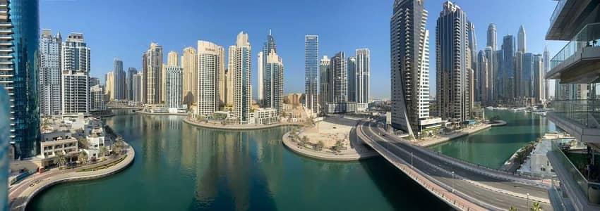 3 Bedroom Apartment for Sale in Dubai Marina, Dubai - Large 3 BR+ Maid I Marina View I Bayside Residence