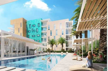 استوديو  للبيع في مويلح، الشارقة - شقة في الزاهية مويلح 420000 درهم