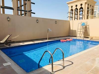 شقة 2 غرفة نوم للايجار في الجداف، دبي - شقة في الجداف ريزيدنس الجداف 2 غرف 59000 درهم - 5442068