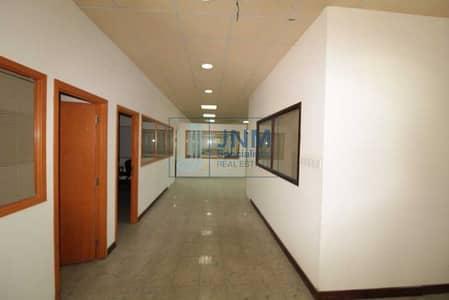 مستودع  للايجار في جبل علي، دبي - 4 loading bay/huge warehouse and office