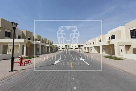 تاون هاوس 4 غرف نوم للبيع في تاون سكوير، دبي - Spacious | Vacant | Single Row | Corner Unit