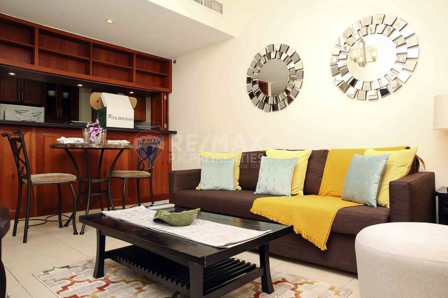 Fully Furnished 1 Bedroom Apartment in Arno