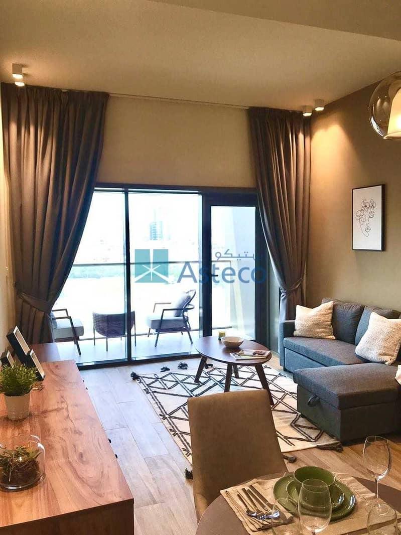Spacious Studio Apartment with Modular Kitchen