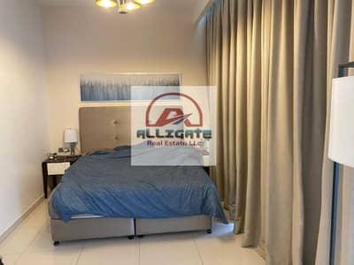 فلیٹ 1 غرفة نوم للايجار في الخليج التجاري، دبي - mh-65k in 4  cheqs Fully Furnished / Well Maintained / 1-Bedroom with  Big Balcony