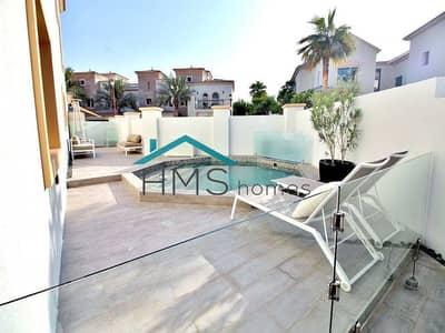 تاون هاوس 3 غرف نوم للبيع في عقارات جميرا للجولف، دبي - Private Pool - Corner Plot - Vacant on Transfer
