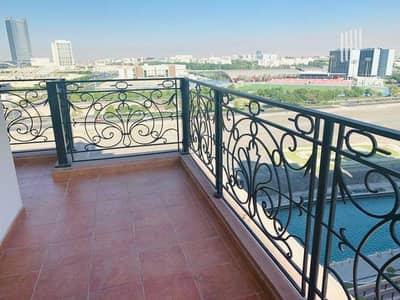 شقة 1 غرفة نوم للايجار في مدينة دبي الرياضية، دبي - شقة في طراز أوروبي مساكن القناه المائية غرب مدينة دبي الرياضية 1 غرف 42000 درهم - 5443306