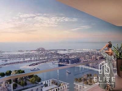 فلیٹ 1 غرفة نوم للبيع في دبي هاربور، دبي - Resale | Post Handover Plan| Full Palm View