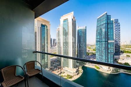 شقة 2 غرفة نوم للايجار في أبراج بحيرات الجميرا، دبي - Bright unit   Lake View   Higher Floor   Spacious