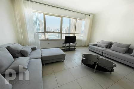 شقة 1 غرفة نوم للايجار في دبي مارينا، دبي - Full Marina View   Bright   Chiller Free