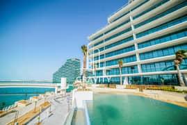 شقة في الهديل شاطئ الراحة 2 غرف 125000 درهم - 5443915