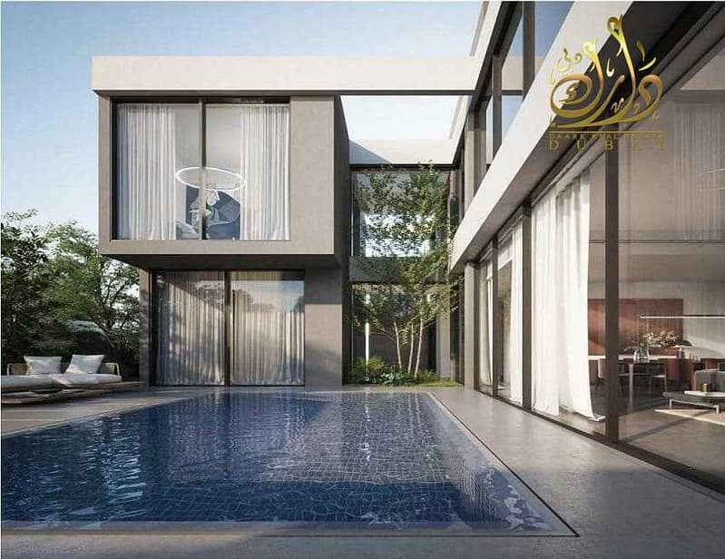 2 For Sale Luxury Standalone Villa with a private pool in installments with the developer
