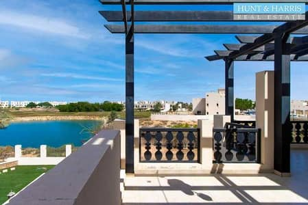 4 Bedroom Villa for Rent in Al Hamra Village, Ras Al Khaimah - Available - Amazing Location - Lagoon and Golf Course View