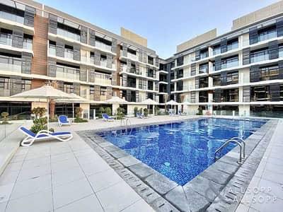 شقة 1 غرفة نوم للايجار في قرية جميرا الدائرية، دبي - Brand New | One Bed + Study | Great Finish