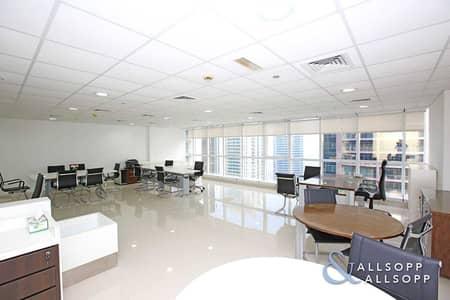 مکتب  للبيع في أبراج بحيرات الجميرا، دبي - Fully Fitted   Vacant Now   High Floor Unit
