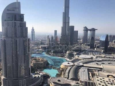 1 Bedroom Hotel Apartment for Rent in Downtown Dubai, Dubai - Burj Khalifa View|All BIlls|Serviced|New condition