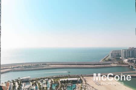 شقة 2 غرفة نوم للبيع في جميرا بيتش ريزيدنس، دبي - Beautiful Sea View   Beach Access   Immaculate