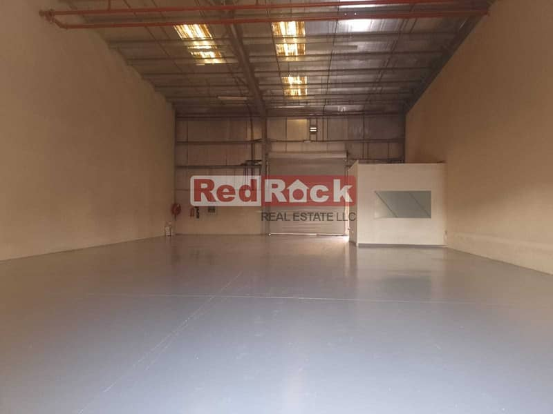 2 Months Rent Free 3000 Sqft Warehouse with Office in Jebel Ali