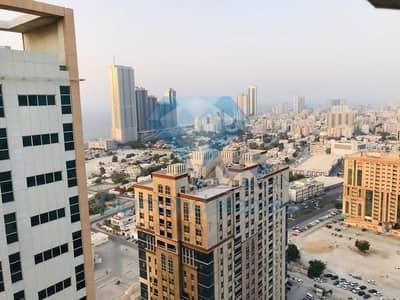 2 Bedroom Apartment for Rent in Al Sawan, Ajman - Brand New Two Bedroom Apartment For Yearly Rent With Partial Sea View