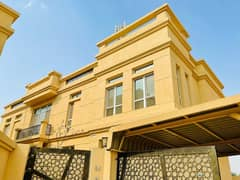 4 BEDROOMS 2 HALL MAJLIS MAIDROOM 5000SQFT VILLA FOR RENT 85000 AED YEARLY
