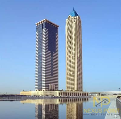شقة 1 غرفة نوم للايجار في الخليج التجاري، دبي - Canal View | Corner Unit | Bright & Spacious