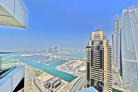 بنتهاوس 5 غرف نوم للبيع في دبي مارينا، دبي - Upgraded | Penthouse | Panoramic Sea View