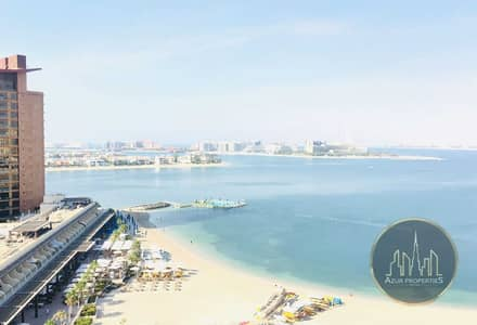 شقة 3 غرف نوم للايجار في نخلة جميرا، دبي - Type A 3br +Maids Sea View With Beach Club Access