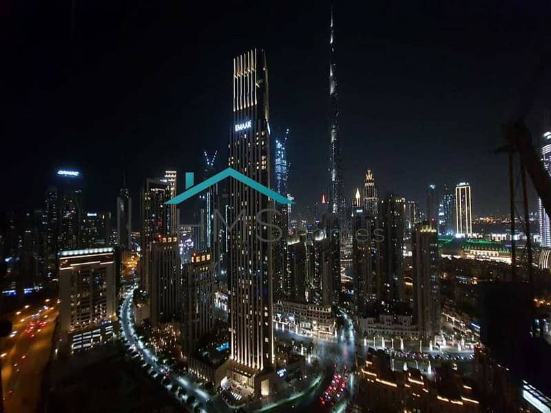 2 Full Burj View | High Floor | Best Lay out