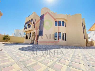 7 Bedroom Villa for Rent in Gafat Al Nayyar, Al Ain - Unique Design Triplex Villa with Huge Terrace