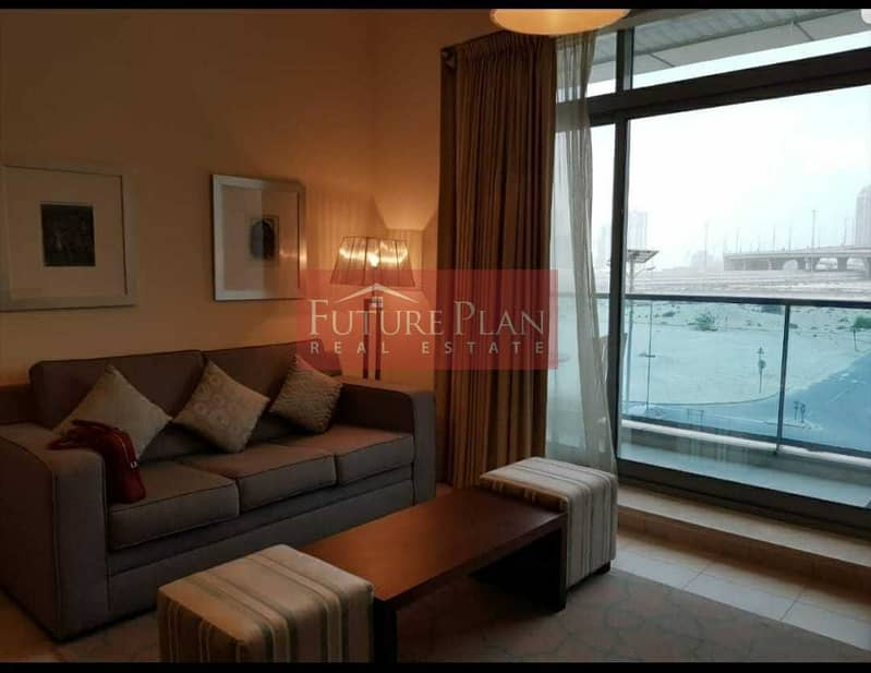 Furnished 1BR   with Balcony   The Diamond, Sports City, Dubai