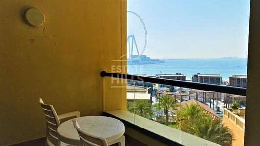 شقة فندقية 2 غرفة نوم للايجار في جميرا بيتش ريزيدنس، دبي - شقة فندقية في امواج 2 أمواج جميرا بيتش ريزيدنس 2 غرف 200000 درهم - 5433987