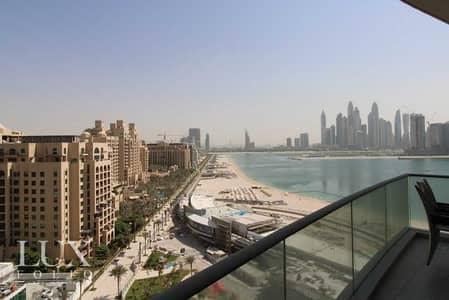 شقة 2 غرفة نوم للايجار في نخلة جميرا، دبي - View Today  High Floor   Upgraded Features