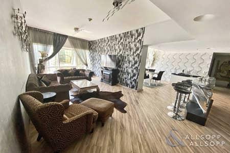 فلیٹ 3 غرف نوم للايجار في أبراج بحيرات الجميرا، دبي - 3 Bed Duplex | Cinema Room | Fully Furnished