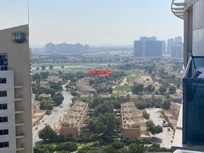 2 Bedroom Apartment for Rent in Dubai Sports City, Dubai - Bright high floor 2 bhk Ac under dewa available