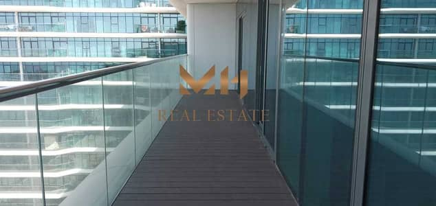 2 Bedroom Flat for Rent in Al Raha Beach, Abu Dhabi - Amazing Sea View | Big layout with Balcony | Vacant