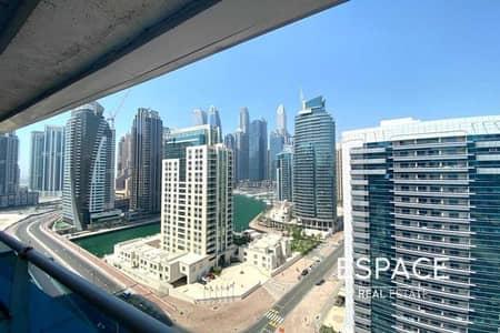 فلیٹ 2 غرفة نوم للايجار في دبي مارينا، دبي - Chiller Free   Marina View   Unfurnished