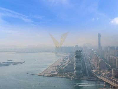 1 Bedroom Apartment for Rent in Dubai Media City, Dubai - Vacant 1BR   Sea and Golf Course View