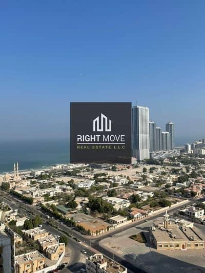 3 Bedroom Flat for Rent in Al Sawan, Ajman - 3 BHK Full Sea View + Parking