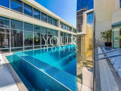 استوديو  للايجار في دبي مارينا، دبي - Furnished Studio. Rooftop Pool. Beach 10min